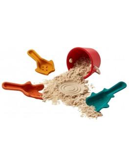 Дерев'яна іграшка Plan Toys Набір для гри в піску (5803)