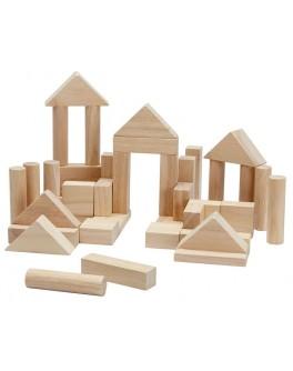 Дерев'яна іграшка Plan Toys Кубики 40 деталей (5512)