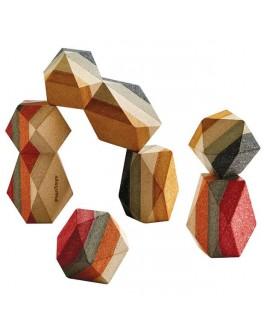 Дерев'яна іграшка Plan Toys Cкладені камені (5511)