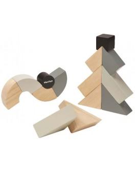 Дерев'яна іграшка Plan Toys Виті блоки (5508)