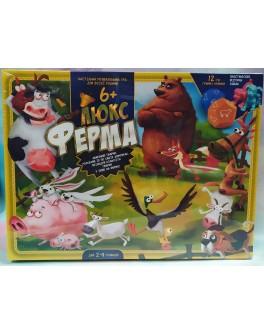Настільна гра Danko Toys Ферма Люкс українською мовою (G-FL-UA-01-01)