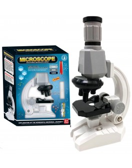 Мікроскоп дитячий збільшення 100Х-400Х-1200х з аксесуарами (2510)