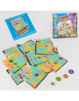 Гра настільна головоломка Fun Game Малюнки та логіка - Лісові звірята (UKB-B 0032)