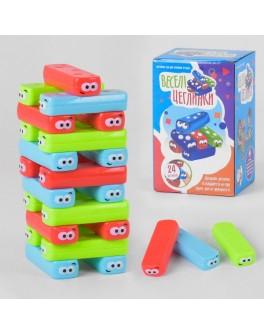 Гра настільна вежа Fun Game Веселі Цеглінкі 24 деталі (UKB-B 0040)