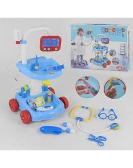 Ігровий набір лікаря Shantou Toys з візком, 33 елемента (66001 D-33)