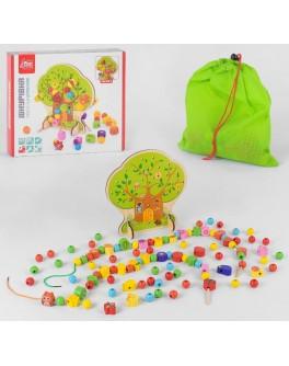 Дерев'яна шнурівка Fun Game Дерево (46395)