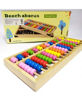 Дерев'яна іграшка Wooden Toys Абакус Рахівниці навчальні (MD 2113)