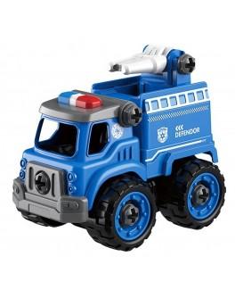 Машинка конструктор з викруткою Пожежна машина 26 деталей (LM 9022)