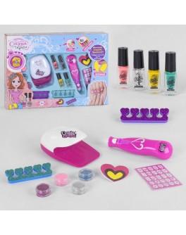 Набір для манікюру Fun Game сушка для нігтів на батарейках, розпилювач блискіток (22930)