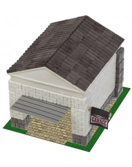 Конструктор Автомобільний гараж з керамічних цеглинок 360 деталей - esk 70736