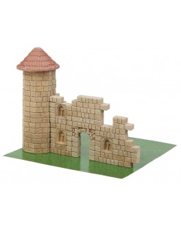 Конструктор Руїни палацу з керамічних цеглинок 170 деталей - esk 70651