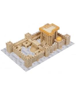 Конструктор Третій Єрусалимський Храм з керамічних цеглинок 1700 деталей - esk 70781