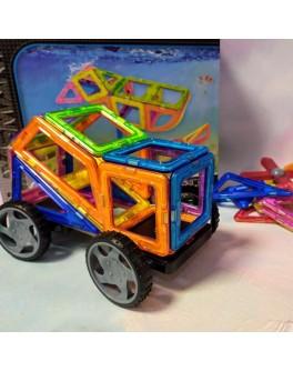 Магнітний конструктор Play Smart Кольорові магніти 36 деталей (2466)