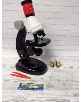 Мікроскоп дитячий збільшення 100Х-400Х-1200Х з аксесуарами (2511)
