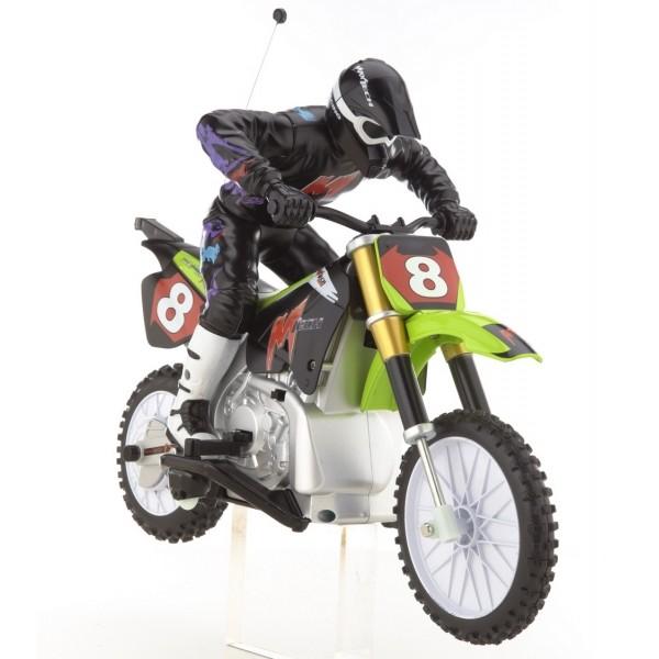 фото Радиоуправляемый мотоцикл Psycho Cycle Bike 1:10 - kklab 48500