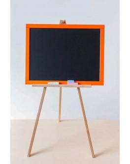 Мольберт двухсторонний на треноге Оранжевый - alb M001