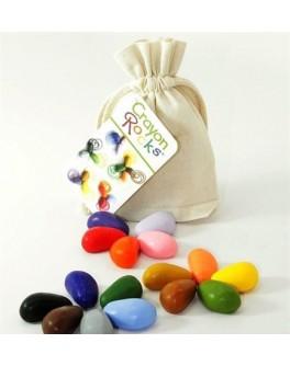 Восковые мелки в хлопковом мешочке 16 шт. Crayon Rocks - sand CR16