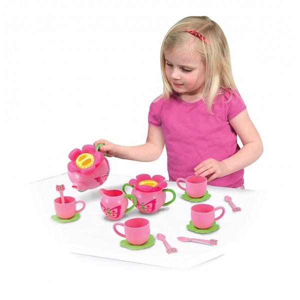 Фото набора детский чайный сервиз бабочка Белла