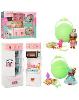 Мебель для куколок LOL Surprise Кухня + 2 шарики (PT2007A-C)