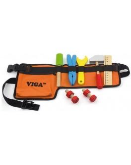 Дерев'яна іграшка Viga Toys Пояс з інструментами (50532) - afk 50532
