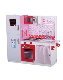 Деревянная детская винтажная кухня (MD 1051) - mpl MD 1051