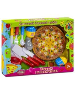 Пицца пластиковая на липучках Fun Game (82001)