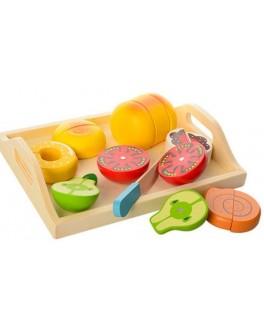 Деревянная игрушка Продукты магнитные (MD 1072)