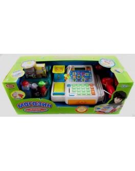 Кассовый аппарат, микрофон, сканер, считыватель карт, калькулятор 7340 - mult 7340