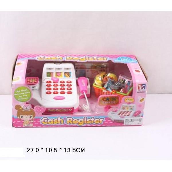 Детский кассовый аппарат с весами, сканером и калькулятором. - Mult 5613