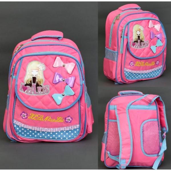 537a87180384 Купить Рюкзак для девочек 555-441 I love Paris в Украине