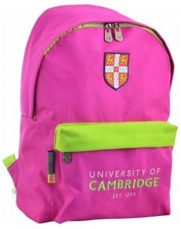 Рюкзак молодіжний YES SP-15 Cambridge pink, 41х30х11 см