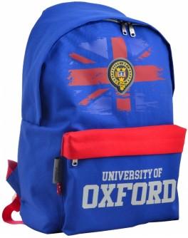Рюкзак молодіжний YES SP-15 Oxford dark blue, 41х30х11 см