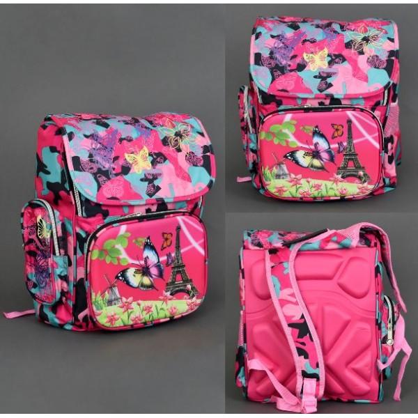 e2fb97c2a90f Купить Рюкзак ортопедический 555-420 с бабочками в Украине