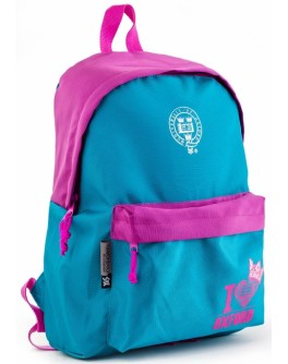 Рюкзак підлітковий YES OX-15 Teal, 42х29х11 см