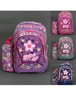 Рюкзак школьный с пеналом 0093-15/555-469 Fashion style - igs 58835