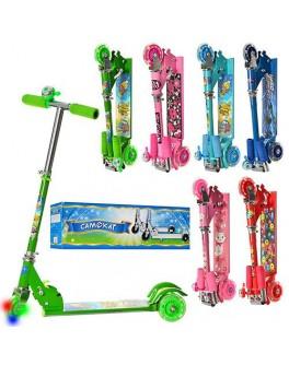 Самокат детский складной трёхколёсный BB 3-010-3 - mpl BB 3-010-3