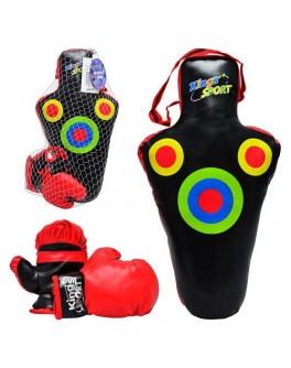Боксерский набор груша, перчатки.  M1275 - Ves  M1275