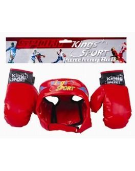 Боксерский набор перчатки, шлем,  BB17 - VES  BB17