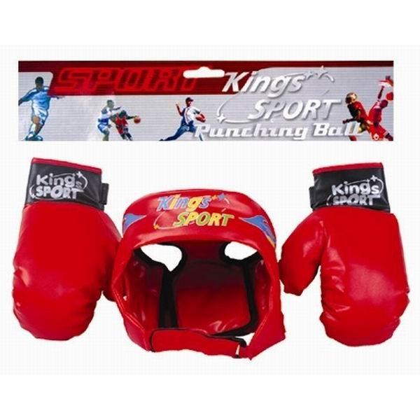 фото Боксерский набор перчатки, шлем,  BB17 - VES  BB17