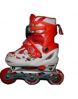 Ролики колеса PU c защитой и шлемом 34-37-L GX890534-37 - VES  GX890534-37