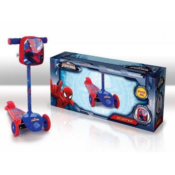 фото Самокат трехколесный Человек-паук  SD0114 - VES SD0114