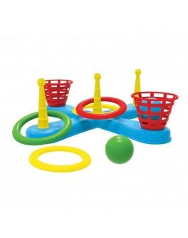 Кольцеброс с корзинами и мячами - MLT 3411