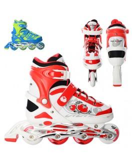 Детские раздвижные ролики Profi Roller A 3020-3 L | размер 39-42 - mpl A 3020-3 L