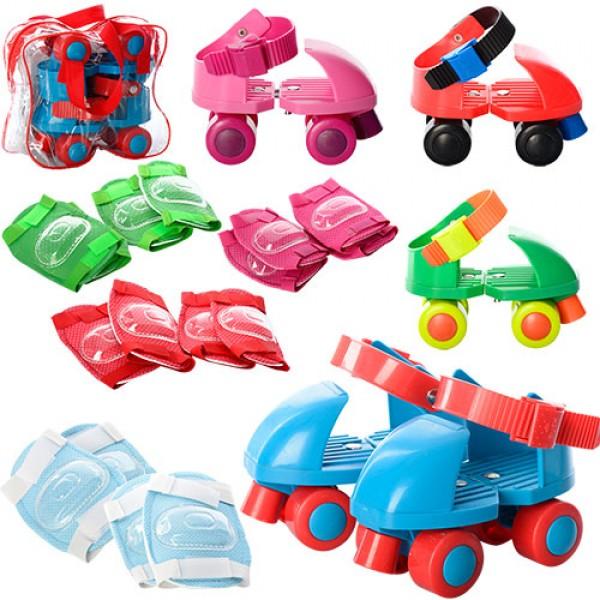 фото Детские квадровые роликовые коньки Profi Roller MS 0038 | размер 24-30 - mpl MS 0038