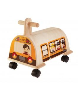 Деревянная каталка Электробус Plan Toys (3472)