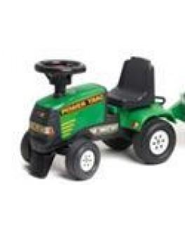 Трактор-каталка Power Track 4x4 зеленый - KKlab 939