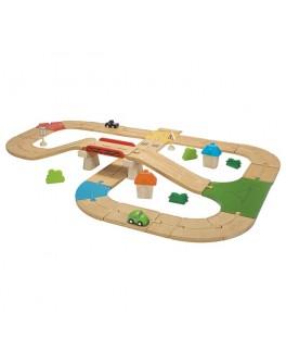Деревянная Автомобильная дорога Plan Toys (6607)
