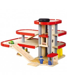 Деревянная игрушка Паркинг PlanToys (6227) - plant 6227