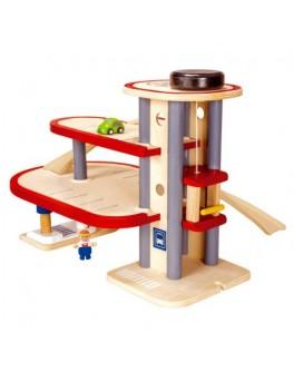 Деревянная игрушка Паркинг PlanToys (6611) - plant 6611