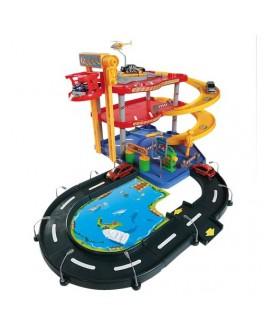 Игровой набор - ГАРАЖ (3 уровня, 2 машинки 1:43) - KDS 18-30025